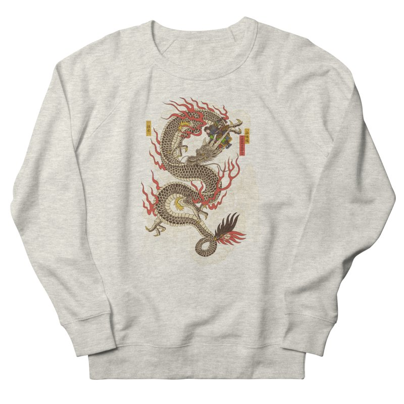 The Dragon Trainer Women's French Terry Sweatshirt by xiaobaosg