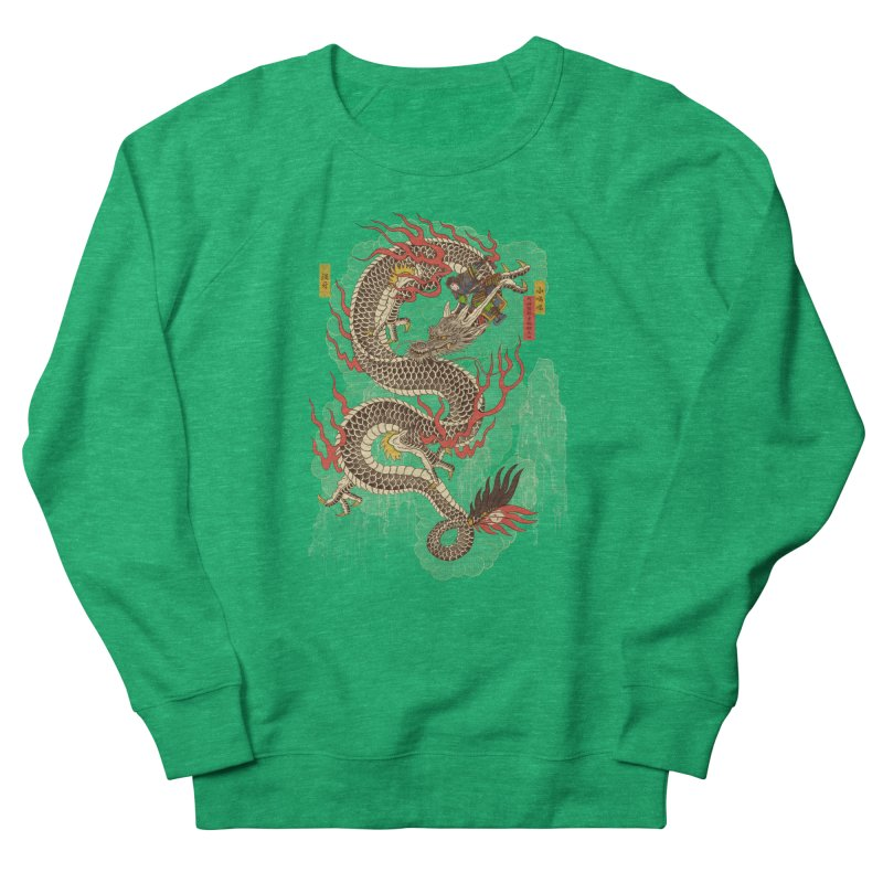 The Dragon Trainer Men's French Terry Sweatshirt by xiaobaosg