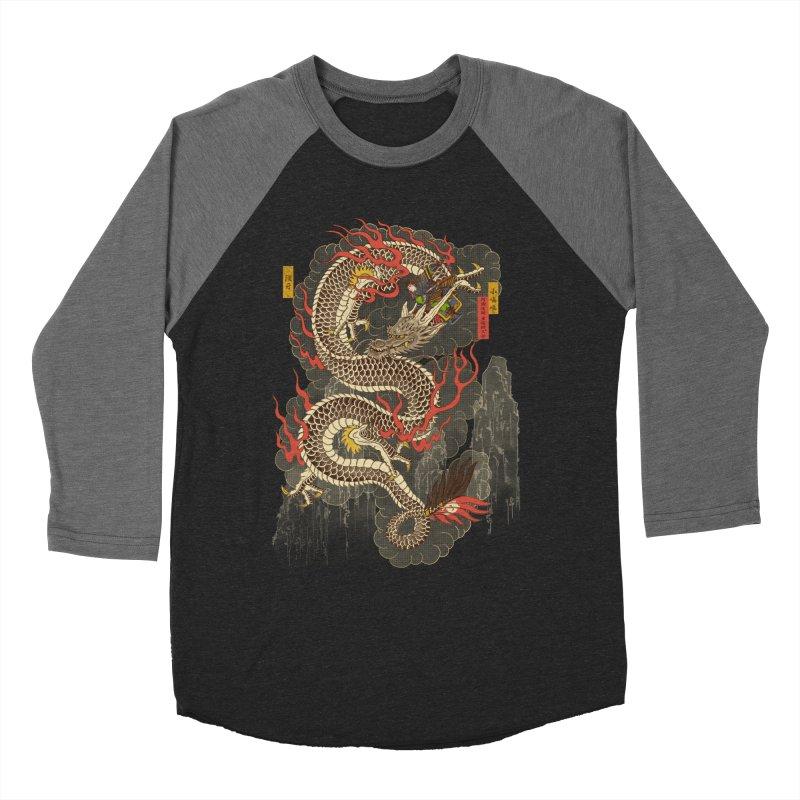 The Dragon Trainer Women's Baseball Triblend Longsleeve T-Shirt by xiaobaosg