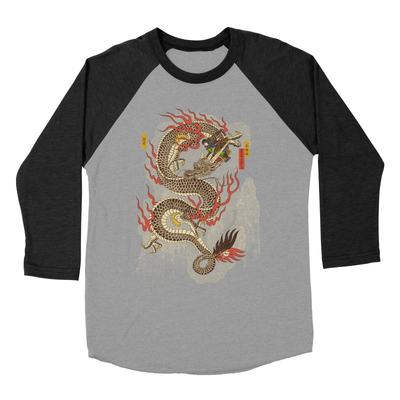 The Dragon Trainer Women's Baseball Triblend Longsleeve T-Shirt by xiaobaosg