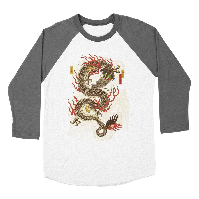 The Dragon Trainer Men's Baseball Triblend Longsleeve T-Shirt by xiaobaosg