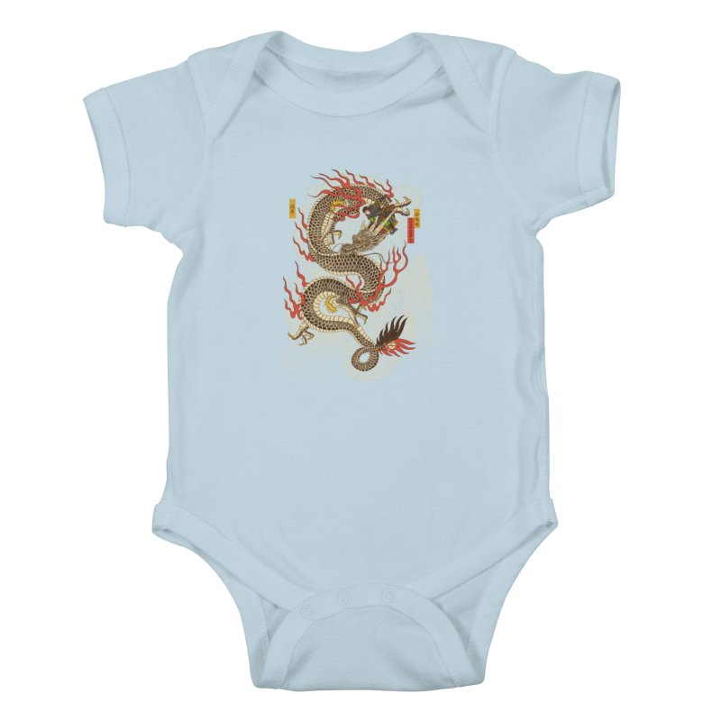The Dragon Trainer Kids Baby Bodysuit by xiaobaosg