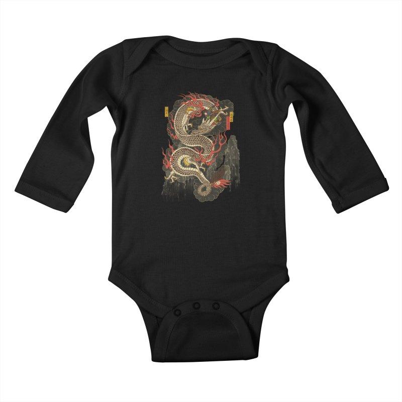 The Dragon Trainer Kids Baby Longsleeve Bodysuit by xiaobaosg