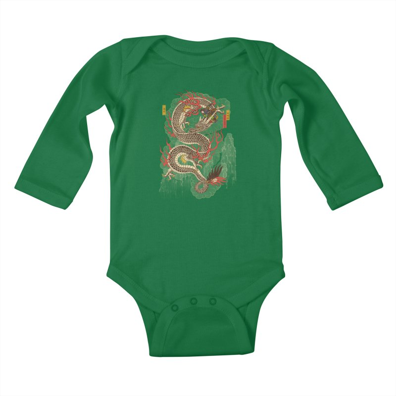 The Dragon Trainer Kids Baby Longsleeve Bodysuit by xiaobaosg