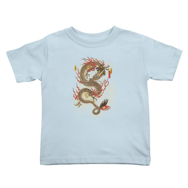 The Dragon Trainer Kids Toddler T-Shirt by xiaobaosg
