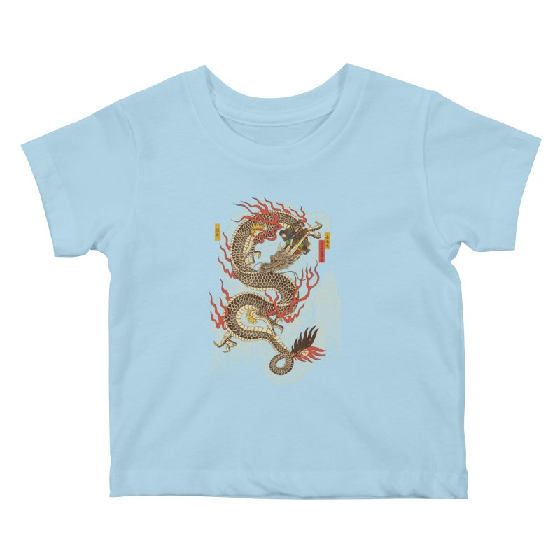 The Dragon Trainer Kids Baby T-Shirt by xiaobaosg