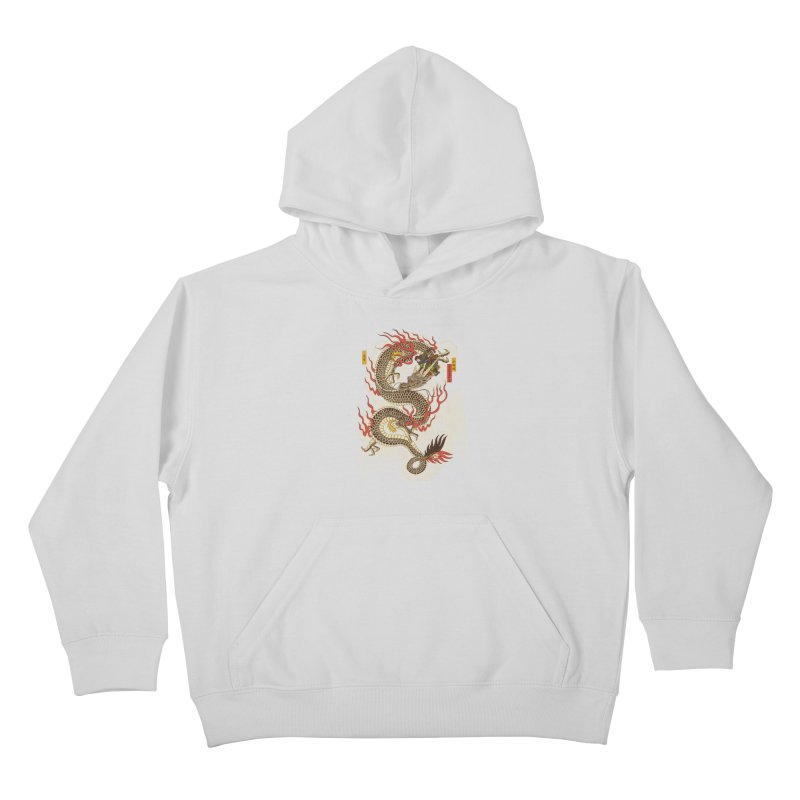 The Dragon Trainer Kids Pullover Hoody by xiaobaosg