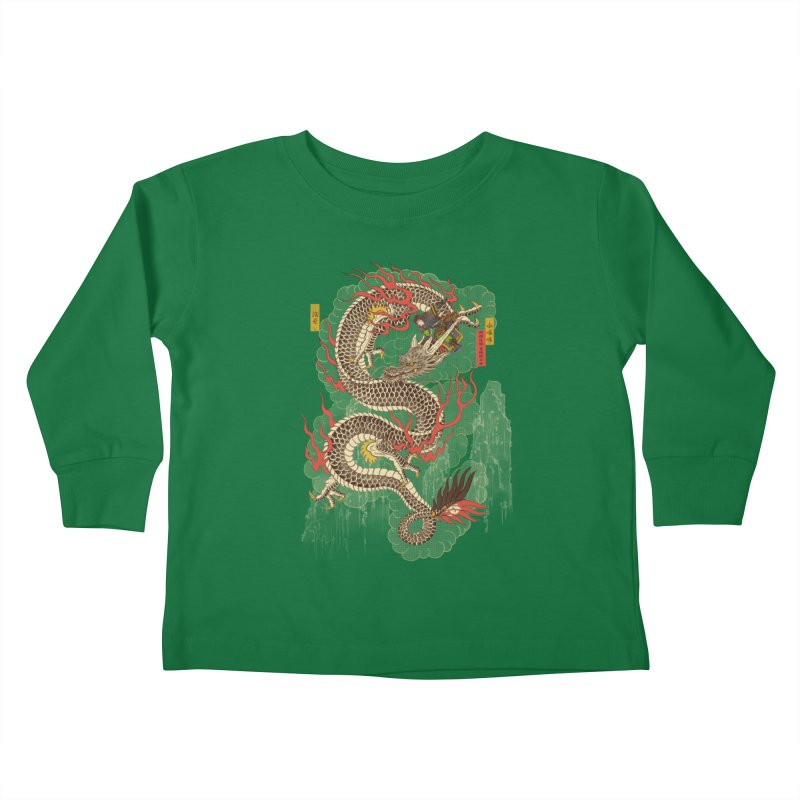 The Dragon Trainer Kids Toddler Longsleeve T-Shirt by xiaobaosg