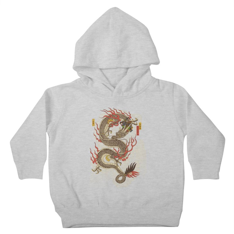 The Dragon Trainer Kids Toddler Pullover Hoody by xiaobaosg