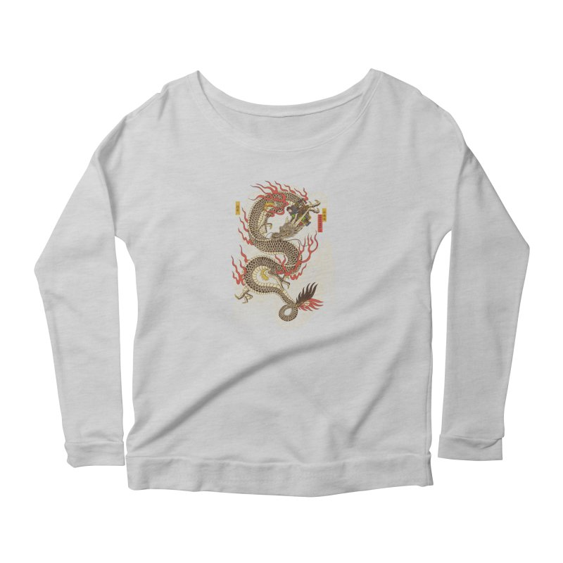 The Dragon Trainer Women's Scoop Neck Longsleeve T-Shirt by xiaobaosg