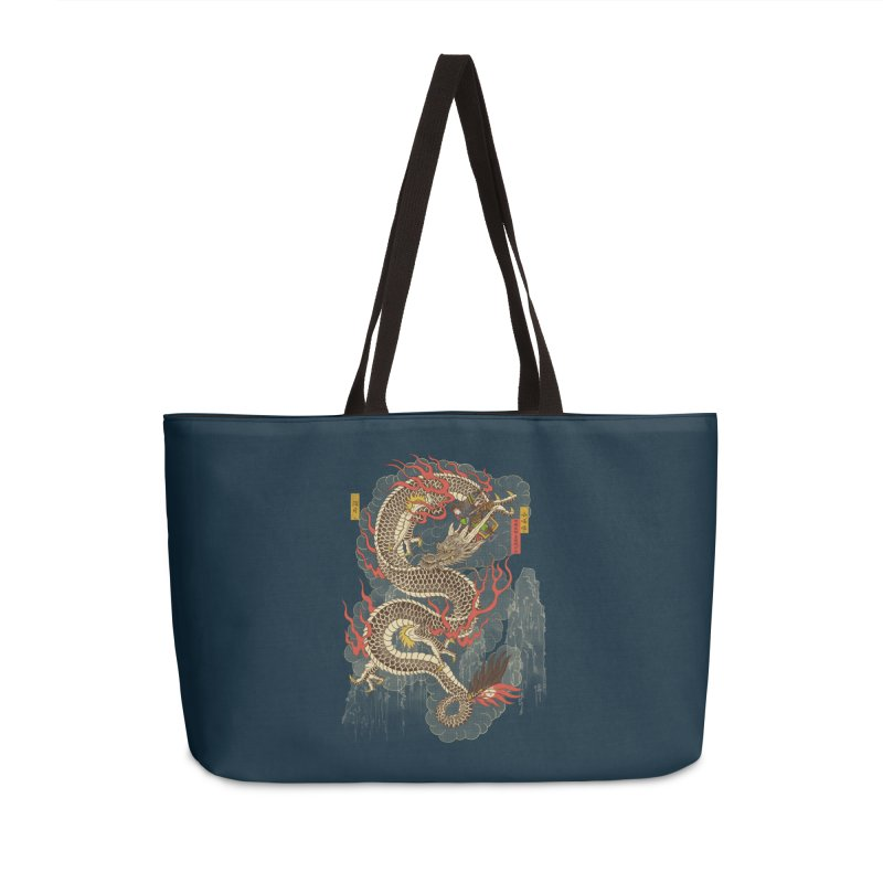 The Dragon Trainer Accessories Weekender Bag Bag by xiaobaosg