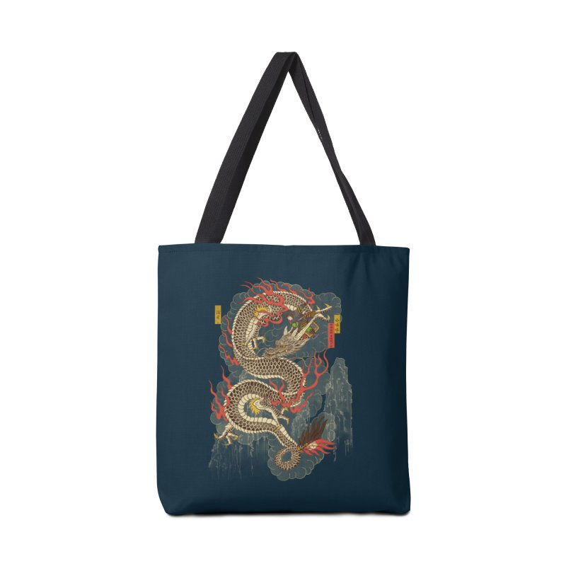 The Dragon Trainer Accessories Tote Bag Bag by xiaobaosg