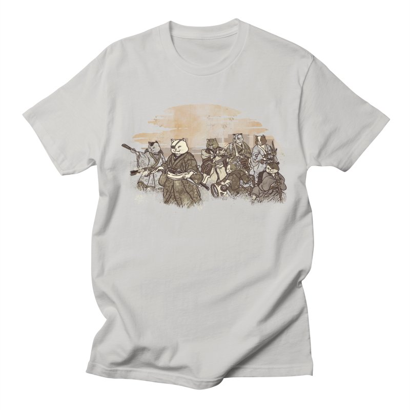 Seven Samurai Cat Women's Regular Unisex T-Shirt by xiaobaosg