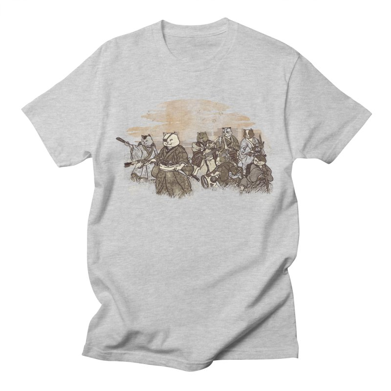 Seven Samurai Cat Women's Regular Unisex T-Shirt by xiaobaosg