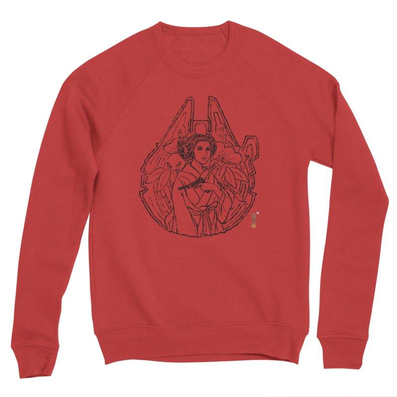 Princess Always Men's Sponge Fleece Sweatshirt by xiaobaosg