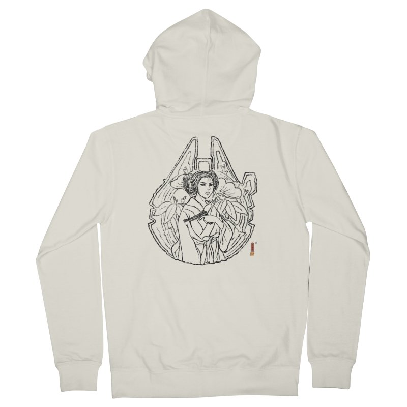 Princess Always Women's French Terry Zip-Up Hoody by xiaobaosg