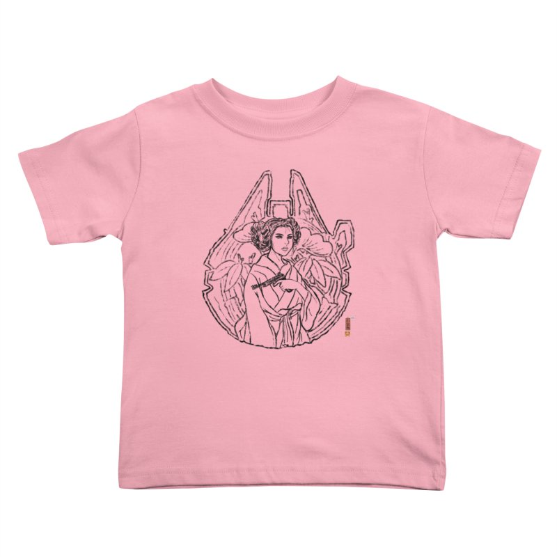 Princess Always Kids Toddler T-Shirt by xiaobaosg