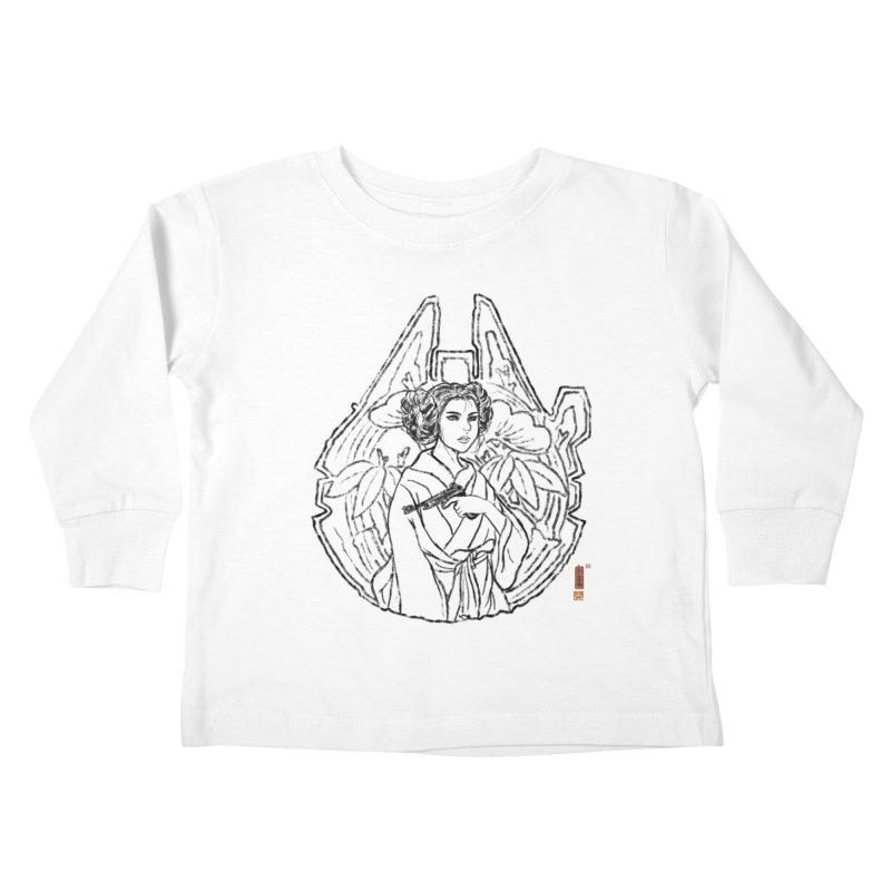 Princess Always Kids Toddler Longsleeve T-Shirt by xiaobaosg