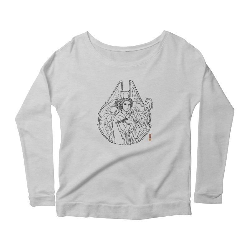 Princess Always Women's Scoop Neck Longsleeve T-Shirt by xiaobaosg