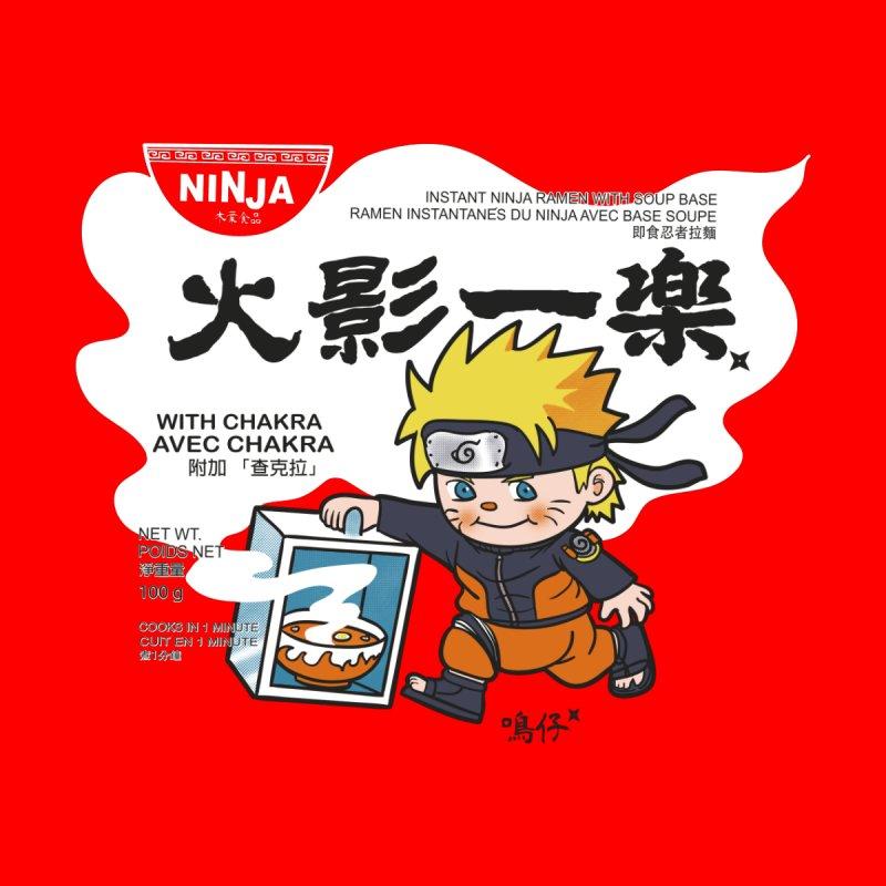Instant Ninja Ramen Men's T-Shirt by xiaobaosg