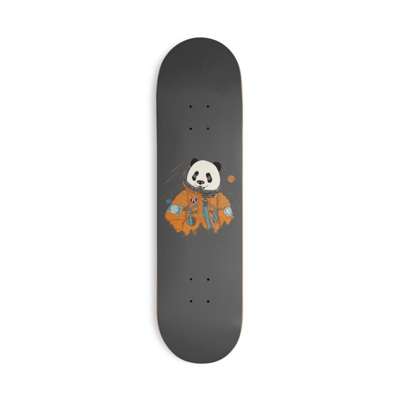 Pandastronaut Accessories Deck Only Skateboard by xiaobaosg