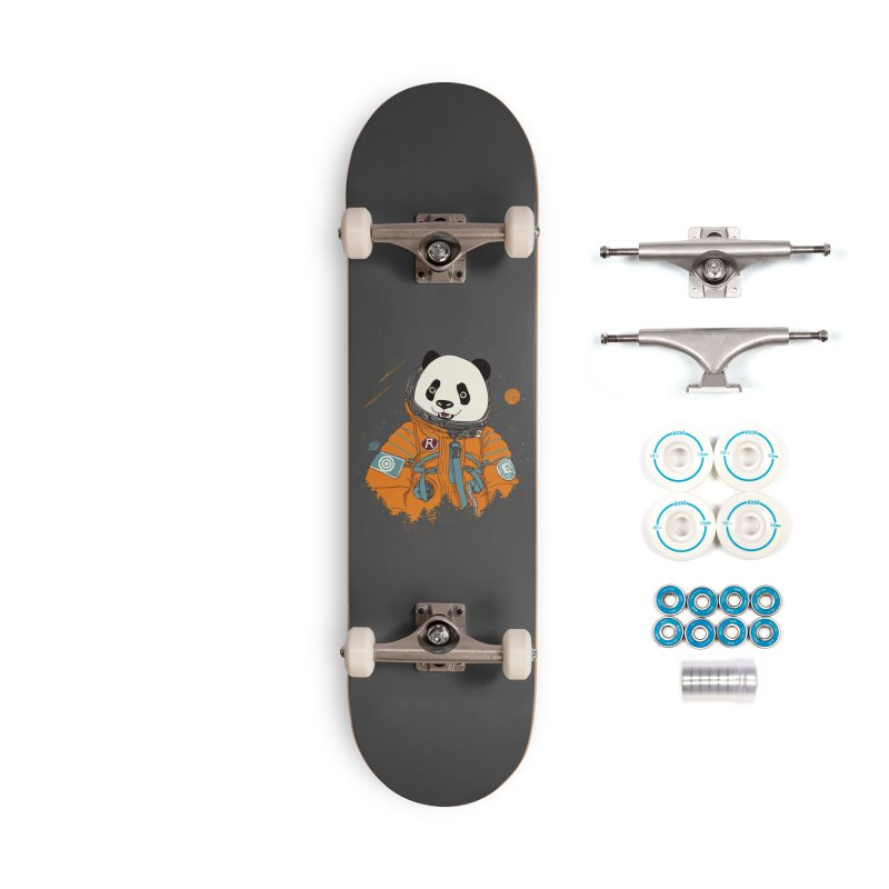 Pandastronaut Accessories Complete - Basic Skateboard by xiaobaosg