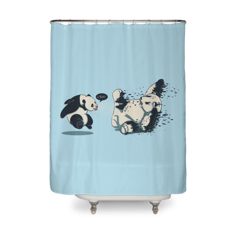 Bad Flu Home Shower Curtain by xiaobaosg
