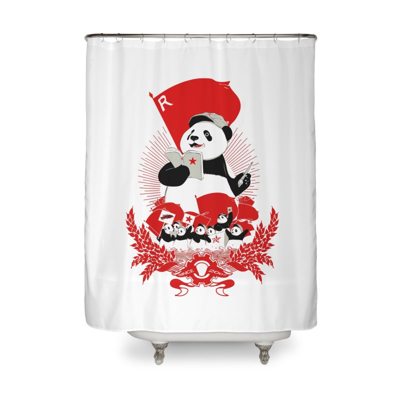 Revolutionary Wave Home Shower Curtain by xiaobaosg