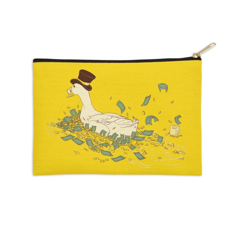 Money Swim Accessories Zip Pouch by xiaobaosg