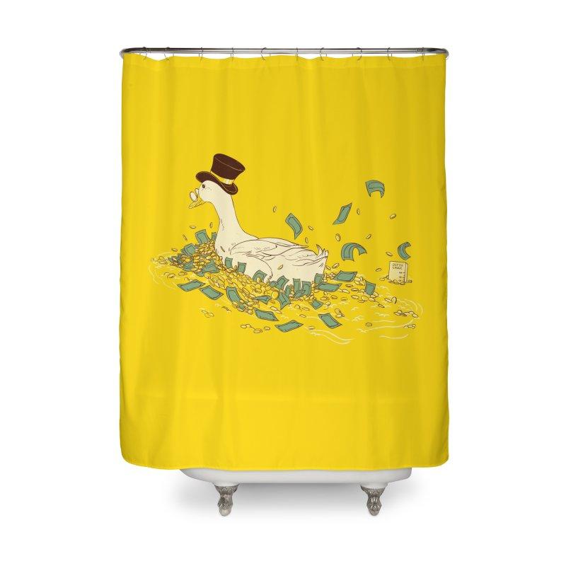Money Swim Home Shower Curtain by xiaobaosg