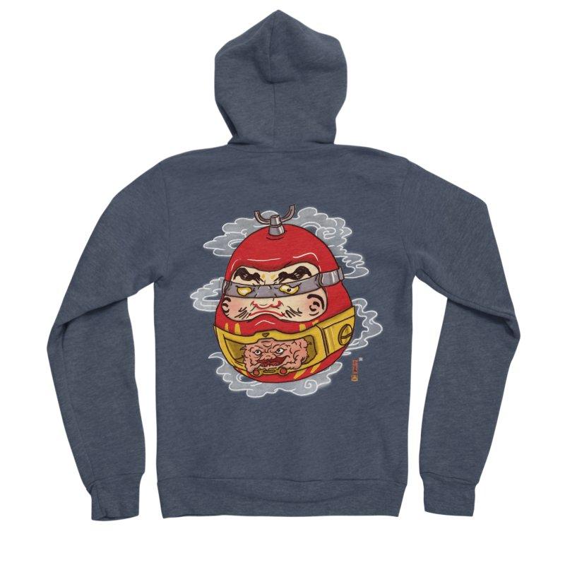 Da-Krang-Ruma Men's Sponge Fleece Zip-Up Hoody by xiaobaosg
