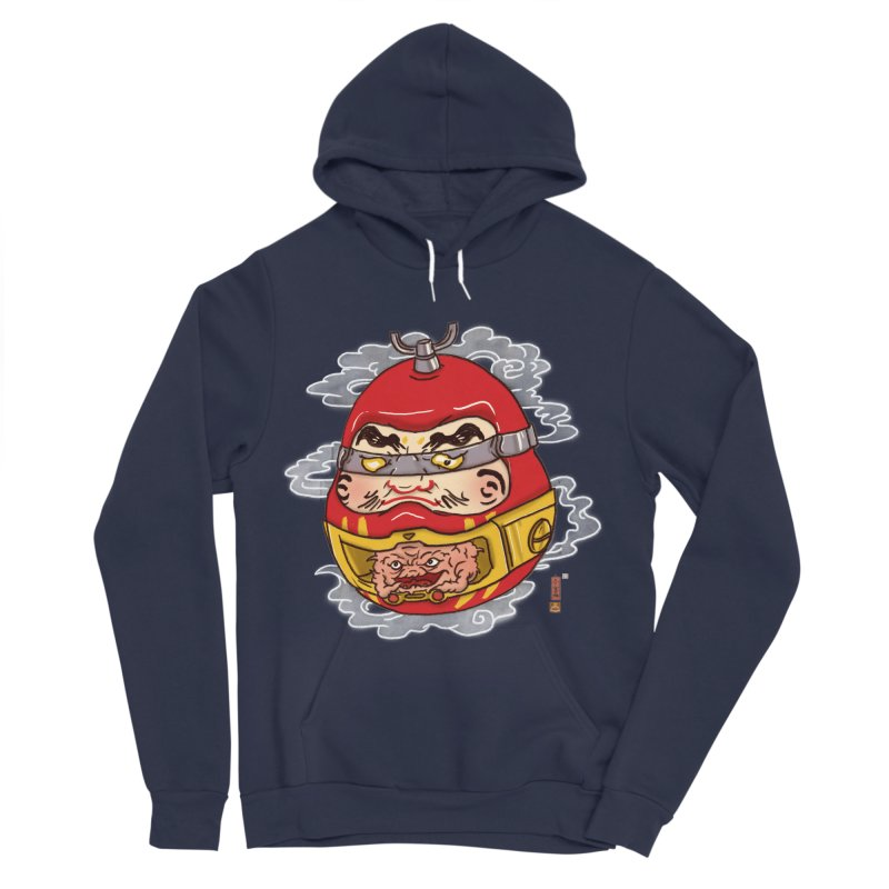 Da-Krang-Ruma Men's Sponge Fleece Pullover Hoody by xiaobaosg