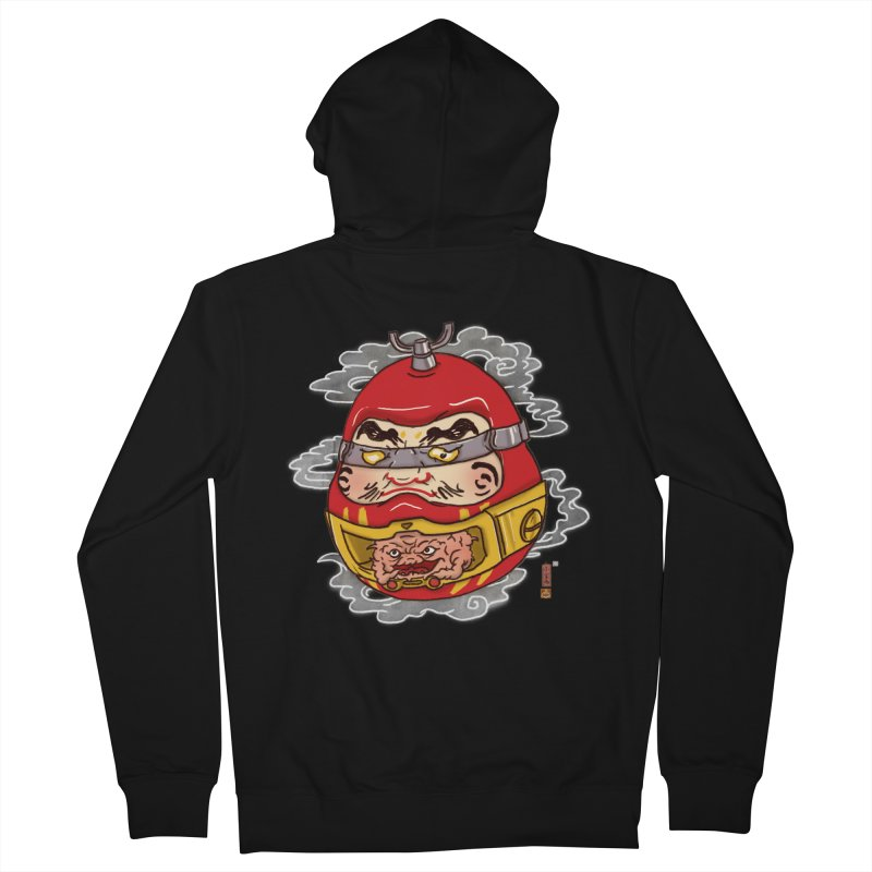 Da-Krang-Ruma Men's French Terry Zip-Up Hoody by xiaobaosg