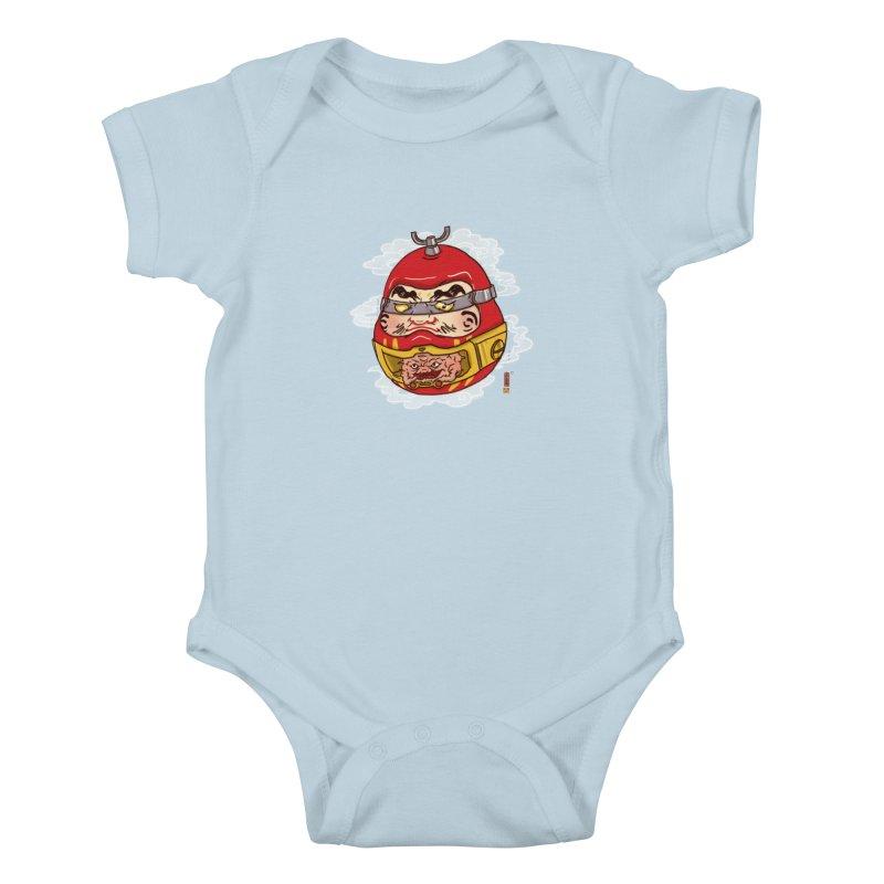 Da-Krang-Ruma Kids Baby Bodysuit by xiaobaosg