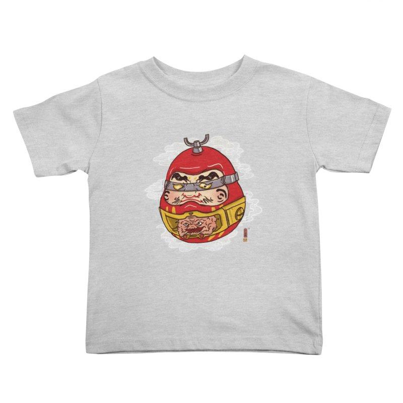 Da-Krang-Ruma Kids Toddler T-Shirt by xiaobaosg
