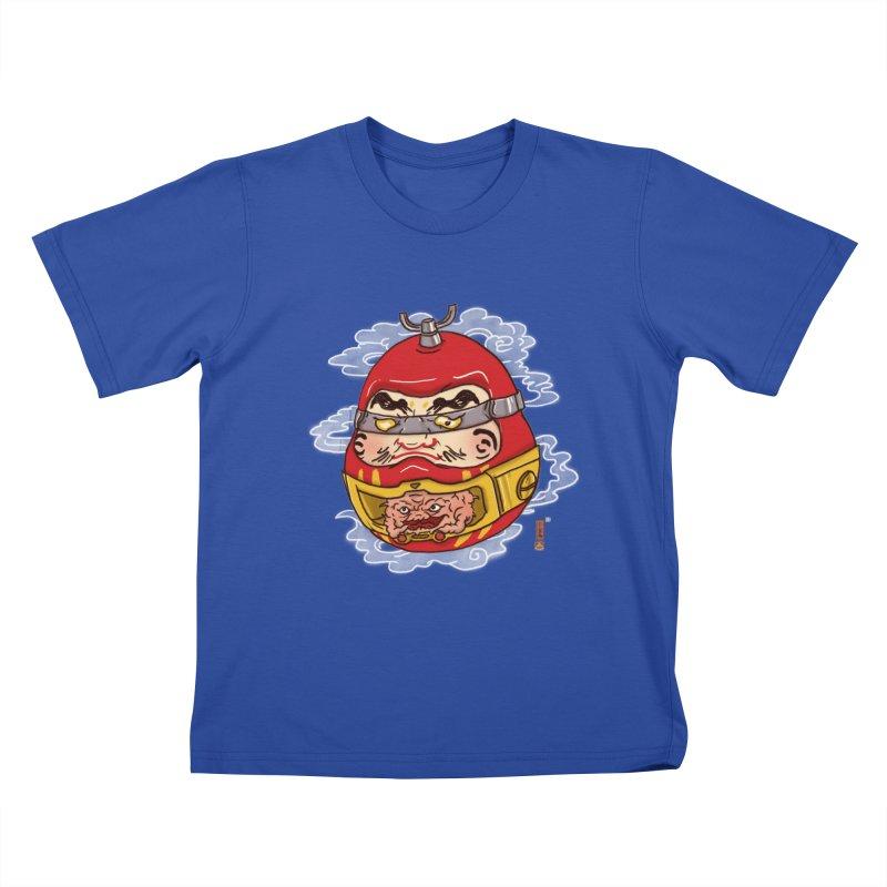 Da-Krang-Ruma Kids T-Shirt by xiaobaosg