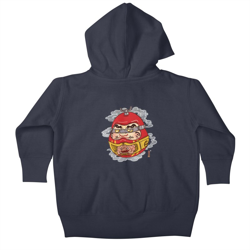 Da-Krang-Ruma Kids Baby Zip-Up Hoody by xiaobaosg