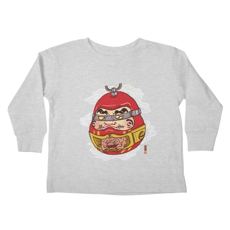 Da-Krang-Ruma Kids Toddler Longsleeve T-Shirt by xiaobaosg