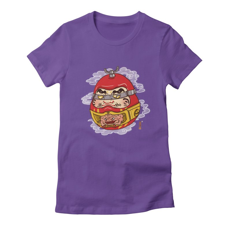 Da-Krang-Ruma Women's Fitted T-Shirt by xiaobaosg
