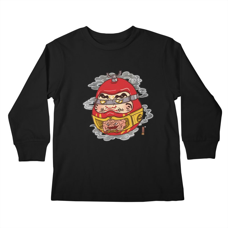 Da-Krang-Ruma Kids Longsleeve T-Shirt by xiaobaosg