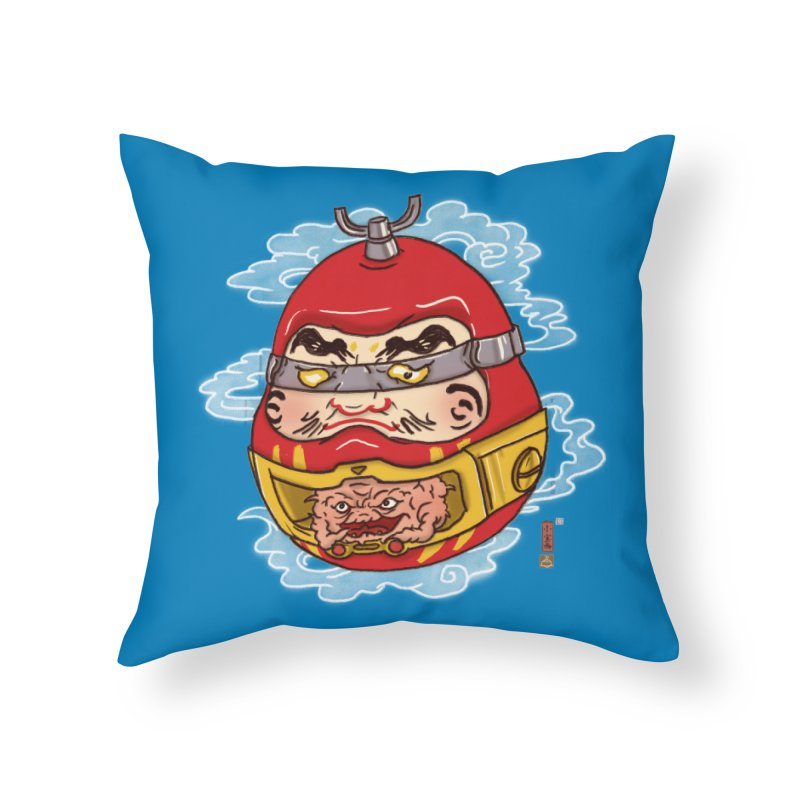 Da-Krang-Ruma Home Throw Pillow by xiaobaosg