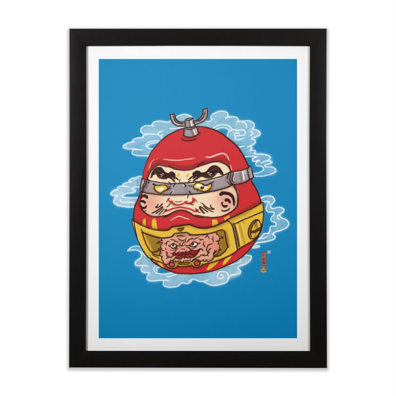 Da-Krang-Ruma Home Framed Fine Art Print by xiaobaosg