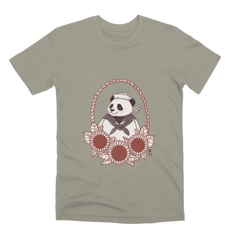 Panda Revolution EXTRA 2 D Men's Premium T-Shirt by xiaobaosg