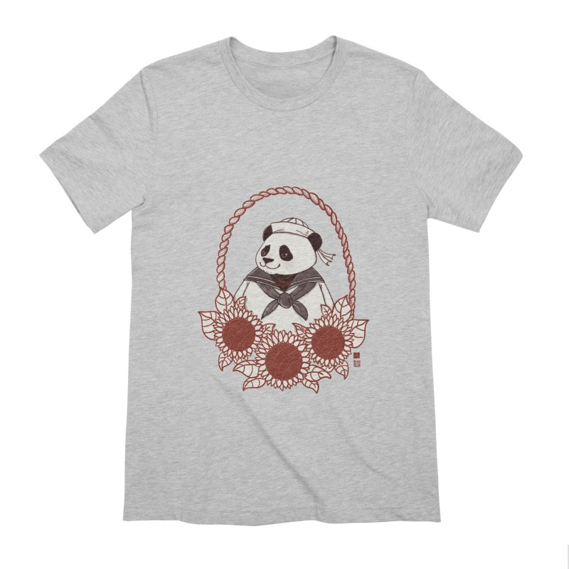 Panda Revolution EXTRA 2 D Men's Extra Soft T-Shirt by xiaobaosg