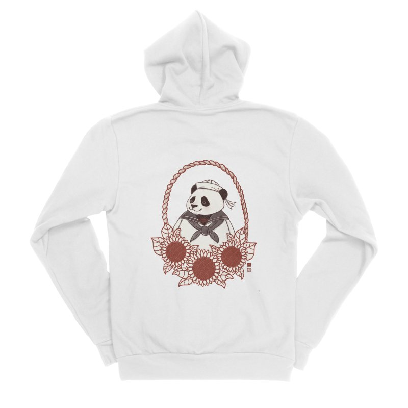 Panda Revolution EXTRA 2 D Women's Sponge Fleece Zip-Up Hoody by xiaobaosg