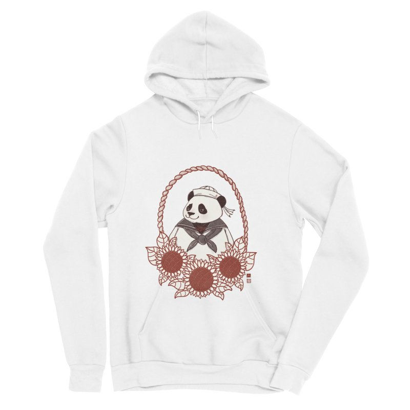 Panda Revolution EXTRA 2 D Men's Sponge Fleece Pullover Hoody by xiaobaosg