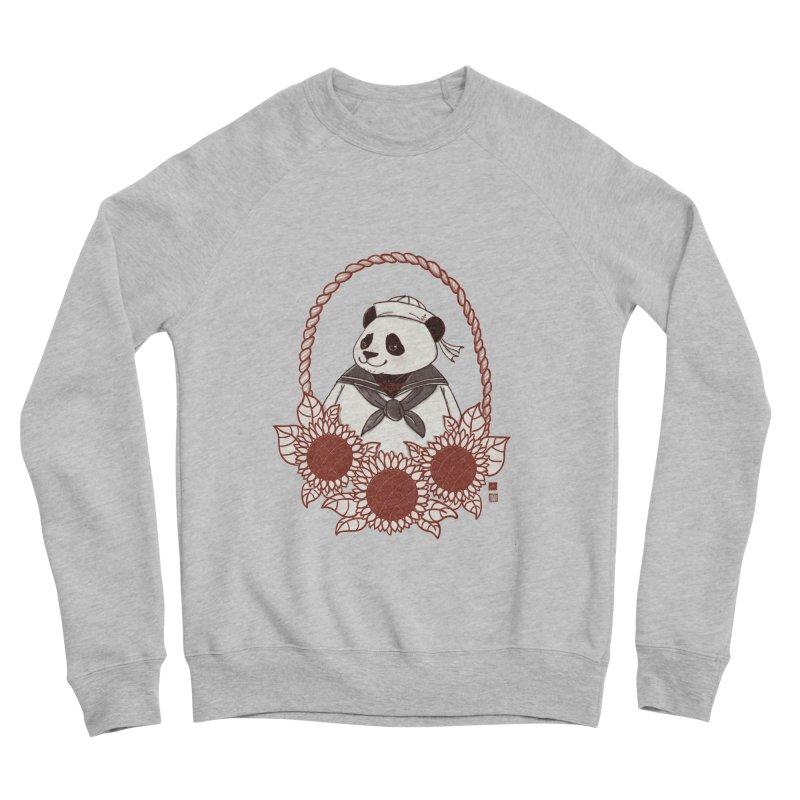 Panda Revolution EXTRA 2 D Men's Sponge Fleece Sweatshirt by xiaobaosg