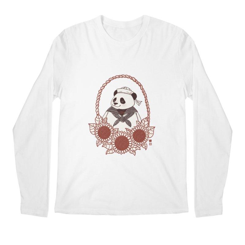 Panda Revolution EXTRA 2 D Men's Regular Longsleeve T-Shirt by xiaobaosg