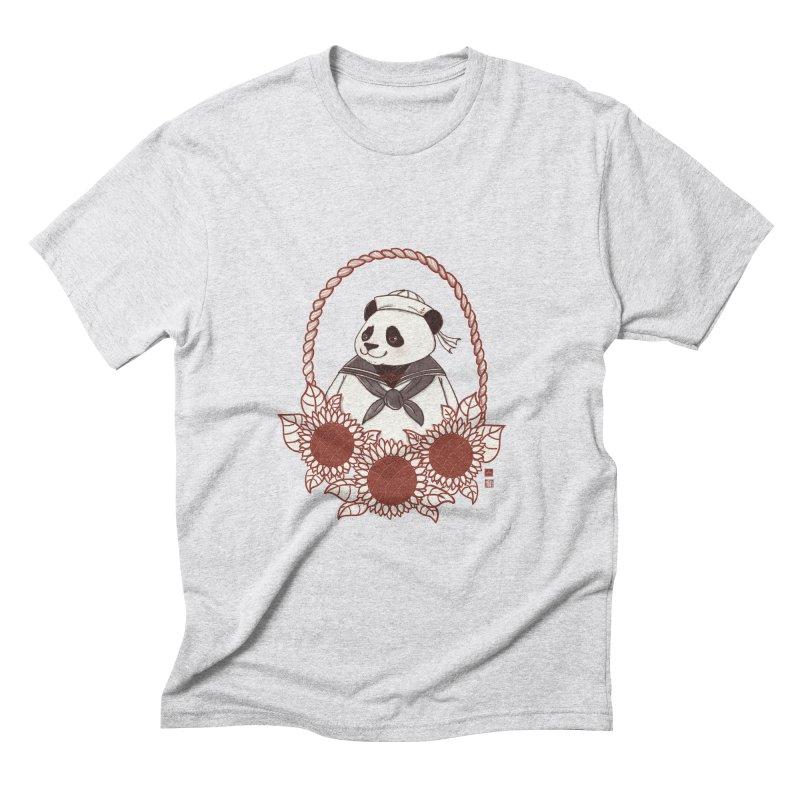 Panda Revolution EXTRA 2 D Men's Triblend T-Shirt by xiaobaosg