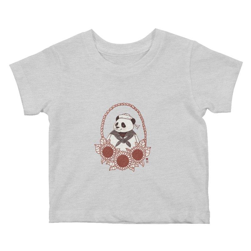 Panda Revolution EXTRA 2 D Kids Baby T-Shirt by xiaobaosg